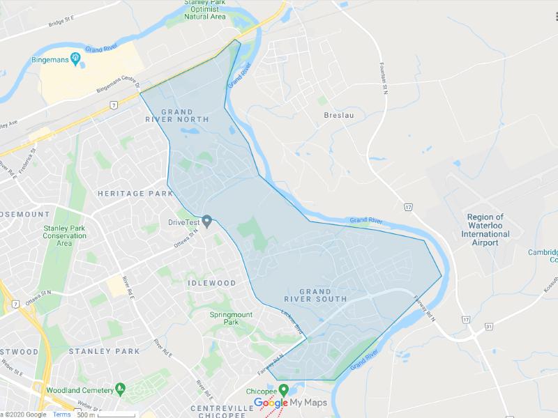 Grand River map