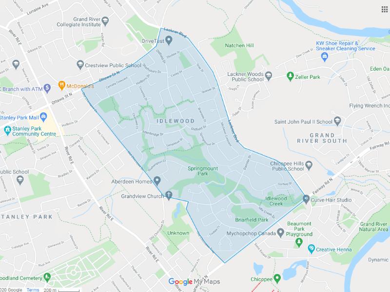 Idlewood map