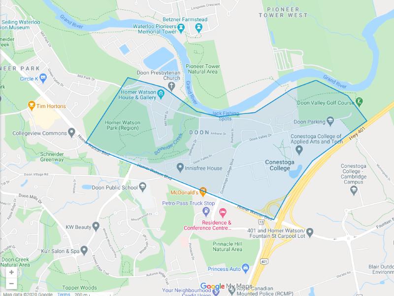 Doon Map