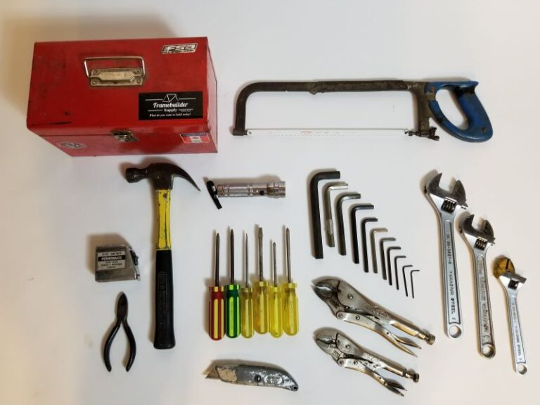 homeowner basic tools